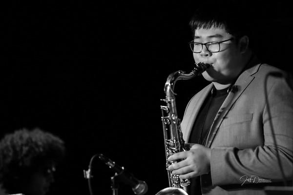 Michael Hu Quintet - B&W - Cliff Bell's 11-11-2018