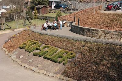 Park walk in Esch sur Sure