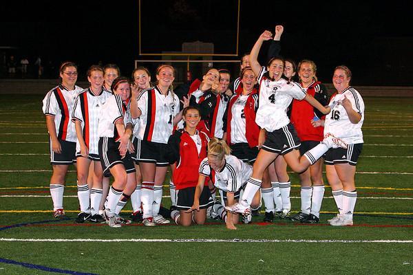 NQHS vs. Quincy Girls Soccer Oct 6, 2007 - Second Half