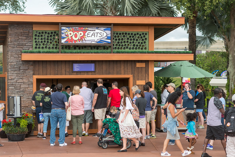 POP Eats! - Epcot International Festival of the Arts 2017