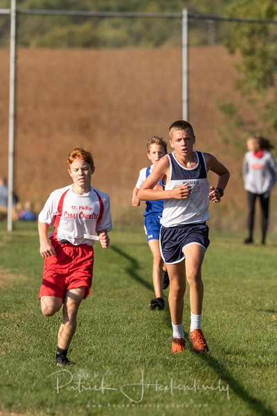 2020-09-30 Hillsdale Academy Cross Country at Pittsford