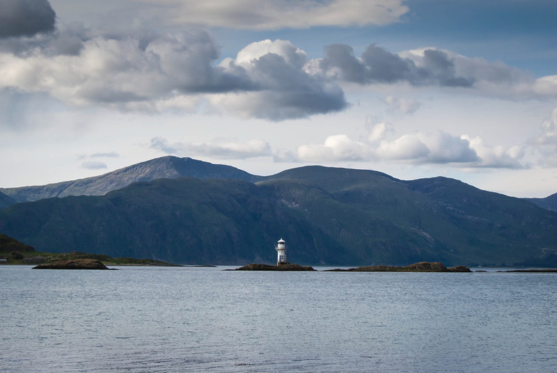 Located on Loch Linnhe 15 miles north of Oban