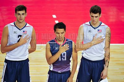 US Men's National Team vs Iran - Volleyball