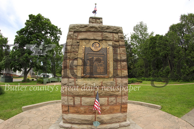 Slippery Rock Memorial Park, located at the corner of Main St. and Cooper St. Seb Foltz/Butler Eagle