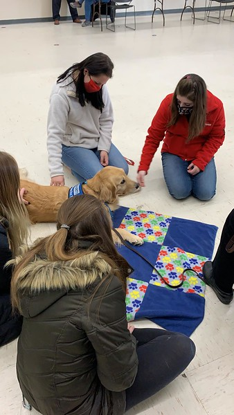 The LCC K-9 Comfort Dogs and LCC Hearts of Mercy & Compassion, Crosses for Losses Ministries Deploy to Kenosha