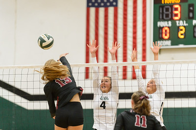 Tigard HS Varsity Volleyball vs Tualatin