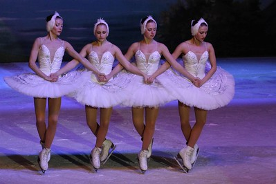 St. Petersburger Staatsballett on ice - Schwanensee