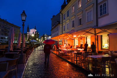 Ljubljana at night - May 11, 2013