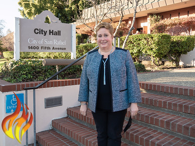 San Rafael City Council Swearing  in 2020