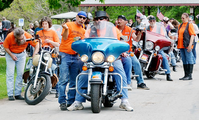 Concerned Motorcyclists of Ohio Special Olympics Run May 29, 2016