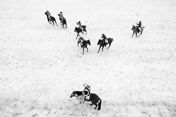 SNOW POLO - VAL D'ISERE et MEGÈVE 2013