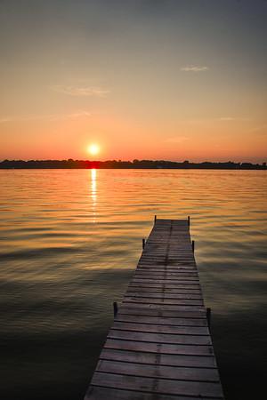 Turtle Lake Sunsets