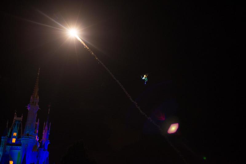 Tinkerbell flies!