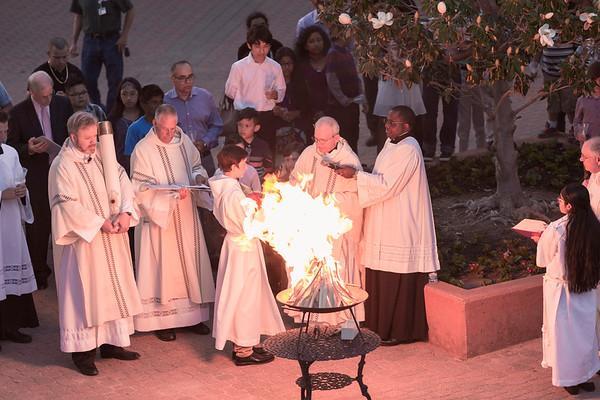 Easter Vigil at St. Ann