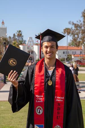 Jason Graduation from SDSU