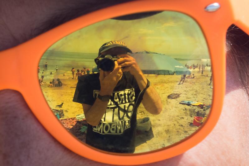 July  7 - Reflections at the beach, Santa Monica, CA.jpg