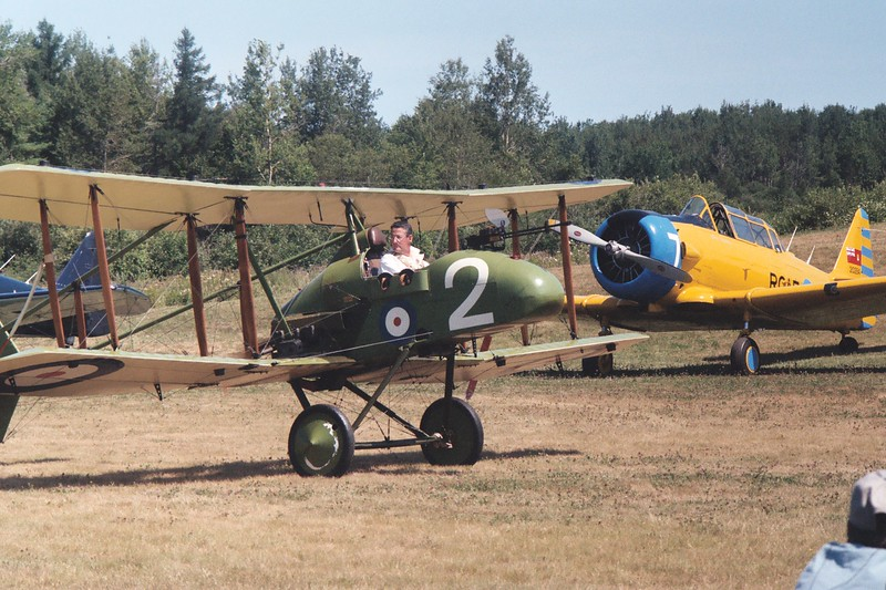 F.E.2 taxiing out