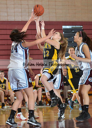 Girls JV Basketball - Waverly at Okemos - Jan 10