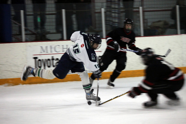 PNAHA TIering vs Bellingham (Game 2-Nov 1 2009)