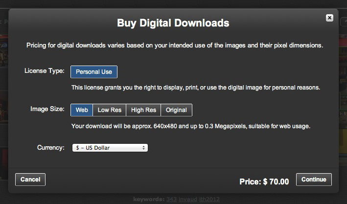 Buy Digital Downloads