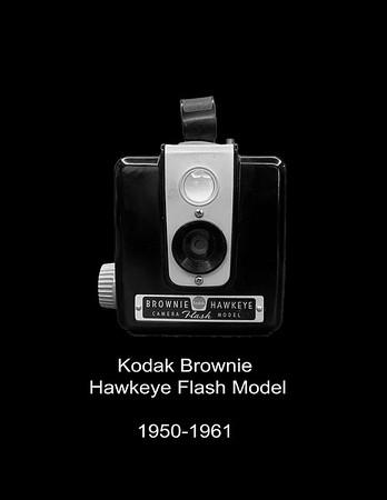 Brownie Hawkeye Flash Model  1950 - 1961