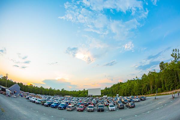 MW Smith, SC Chapman, M Powell | Drive-In Theater Tour VA | 7-20-20