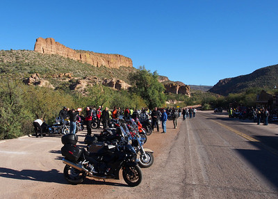 New Year's Day Ride to Tortilla Flats
