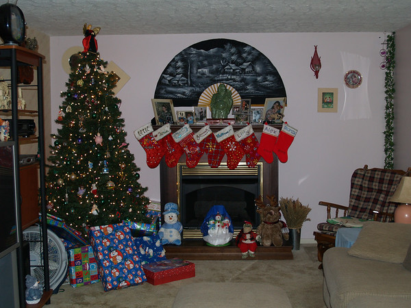Christmas Eve at Danny and Becka's