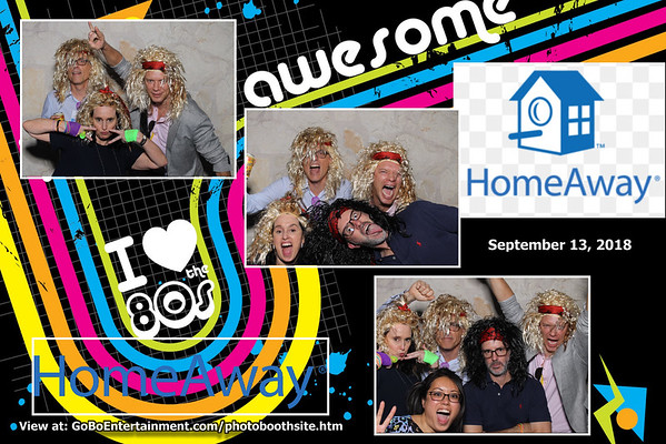 20180913 HomeAway 80's Party