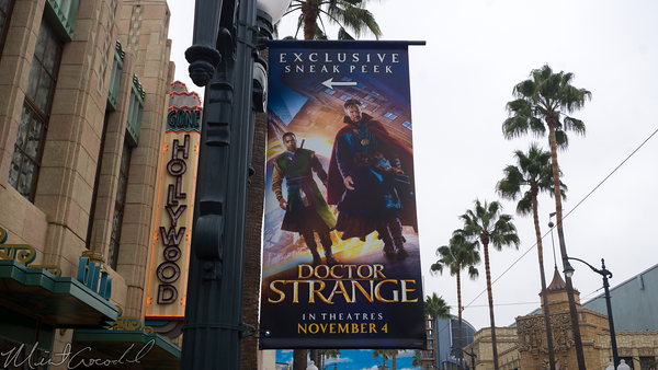 Disneyland Resort, Disney California Adventure, Sunset Showcase Theater, Sunset, Showcase, Theater, Doctor, Strange, Doctor Strange