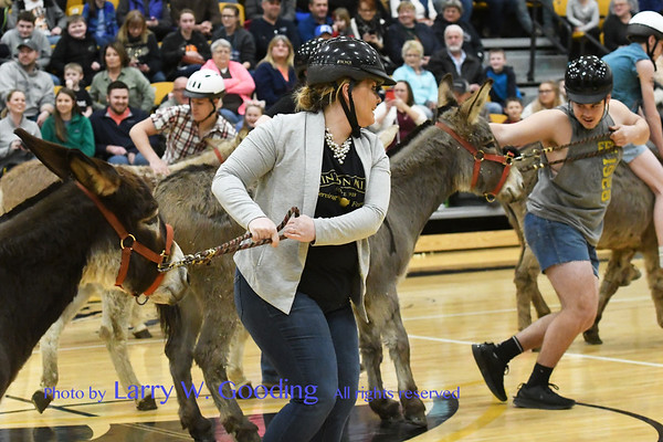 FFA Donkey Basketball Game 2019