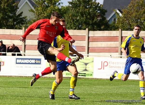 Fareham Town 0 Newport IOW 1  Wessex League  30/8/10