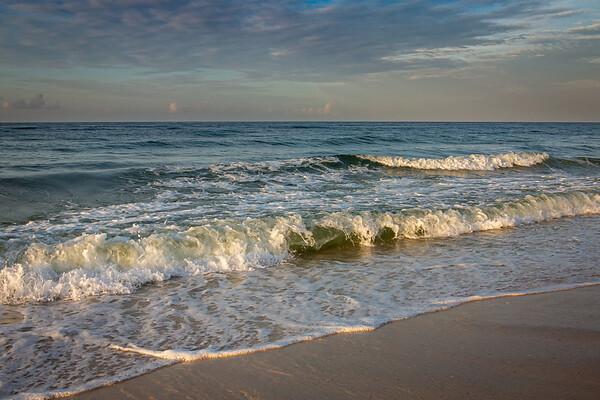 Gulf Waves at Johnson Beach