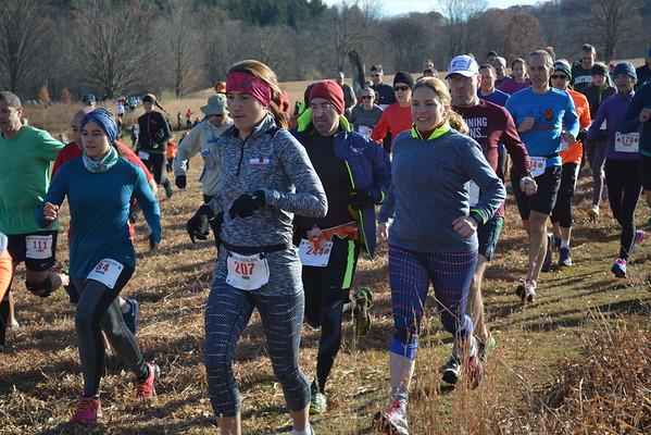 Diane Bradsell - Start of Race 2016