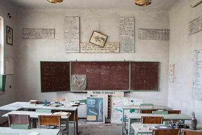 Dorfschule - Tschernobyl.
