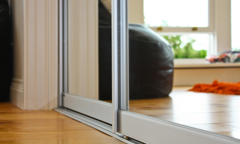 Easy sliding doors with optional soft-closing