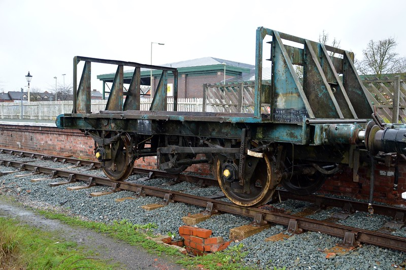 B462732 16t Palbrick Flatbed at Oswestry  28/11/15
