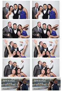 Jane and Alan Photo Booth