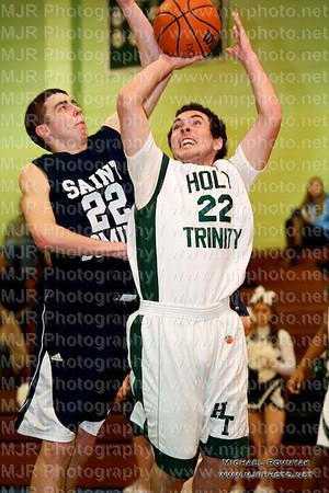 Holy Trinity Vs St Dominics, Boys Varsity Basketball 02.25.11