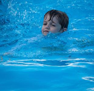 Liam Swim Lesson
