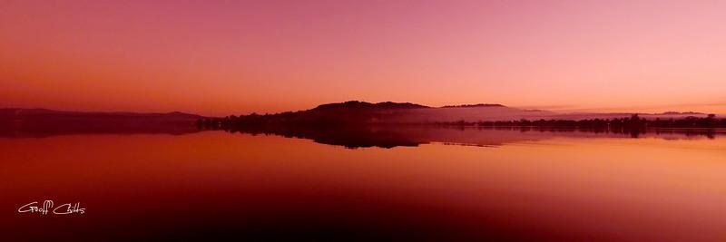Pink Misty Sunrise.