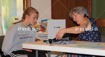 4-H sewing judging