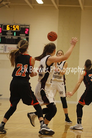 HCHS freshman girls vs Byron Center