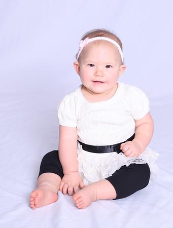 Laurel, nine months, November 2015