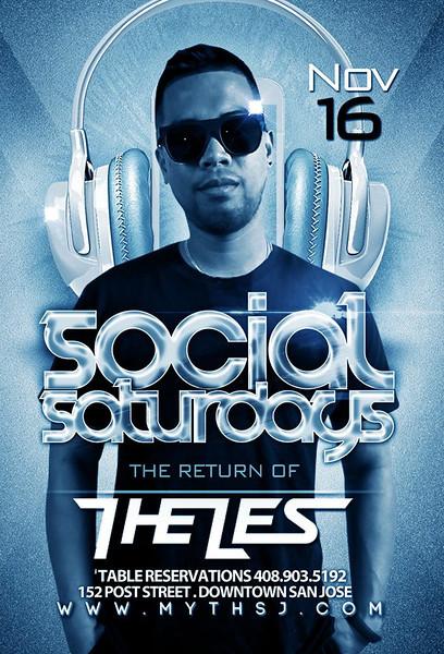 Social Saturdays @ Myth Taverna & Lounge 11.16.13