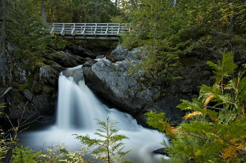 Williams Falls, Mount Carleton Provincial Park, west NB