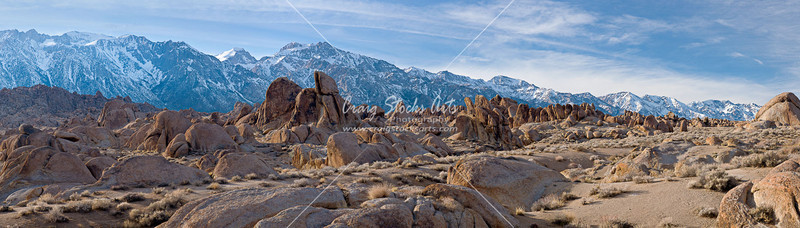 Alabama Hills and the Eastern Sierras