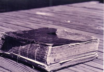 George Washington Doggett Sr. FAMILY BIBLE