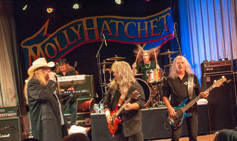 Molly Hatchet Southern Rock Festival Cove Haven Resort 09-03-2016