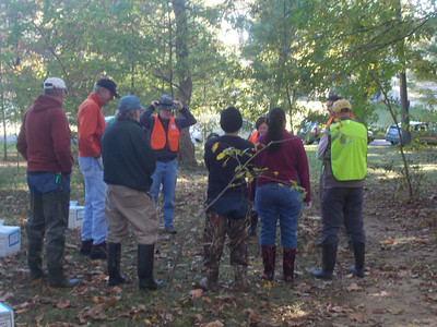 "10.13.12 CSI ""Creek Scene Investigation"" Workshop in Bascom Creek in Elkridge"